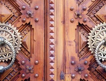 أبواب خارجية مودرن