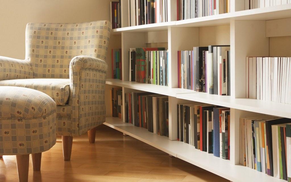 تصميم مكتبة منزلية