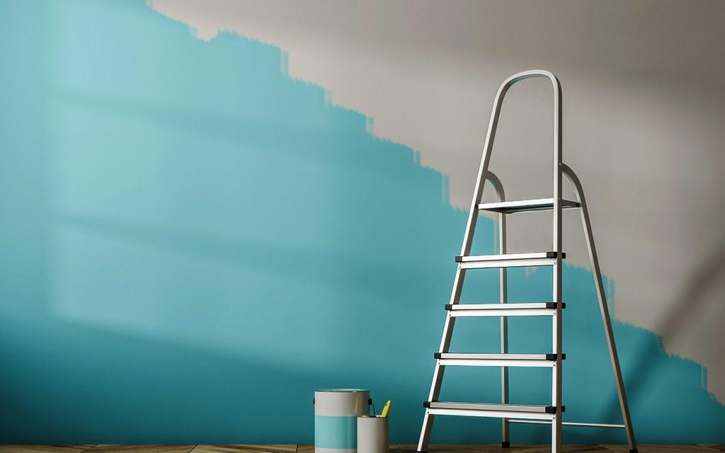طلاء الجدران في الديكور
