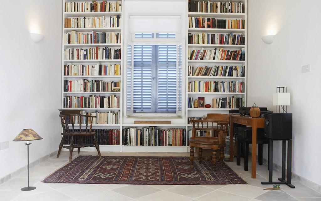 ديكور مكتبة منزلية