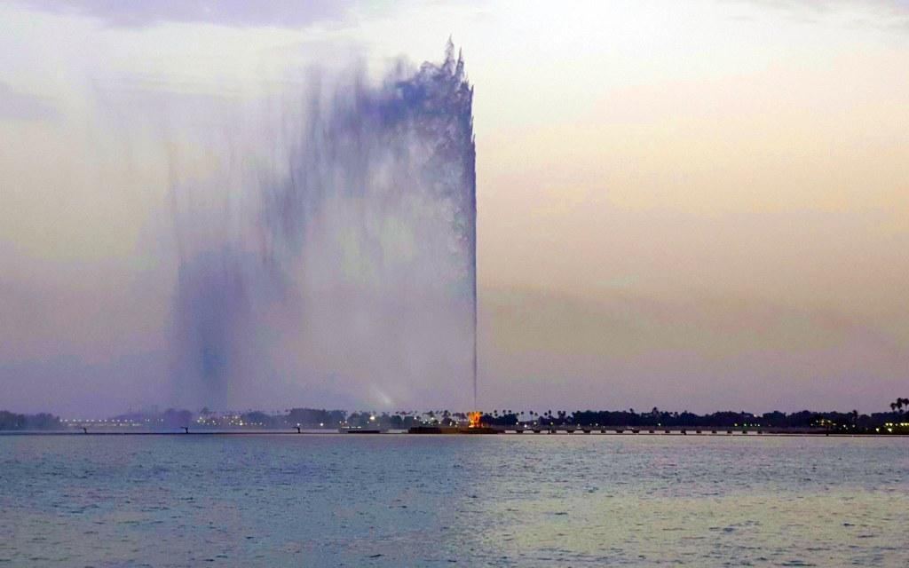 نافورة جدة تعرف غلى أطول نافورة في المملكة العربية السعودية مدونة بيوت السعودية