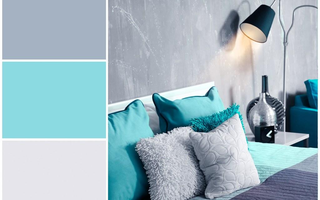 درجات وألوان الغرفة