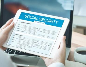 التسجيل الضمان الاجتماعي