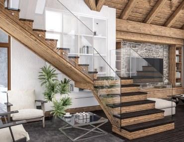 تصاميم سلالم داخلية للمنازل